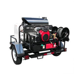 מכונת גרניק תעשייתית בלחץ מים חמים מנוע עצמי