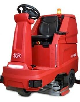 מכונת שטיפת רצפה רכובה - דגם GIGA 802