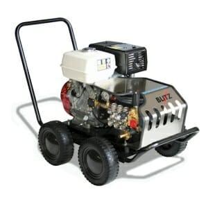 מכונת שטיפה בלחץ מים קרים BLITZ 200 מנוע בנזין